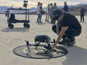 drone pilot california