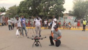 drone operator traveler