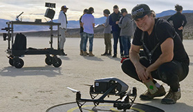 drone pilot for hollywood